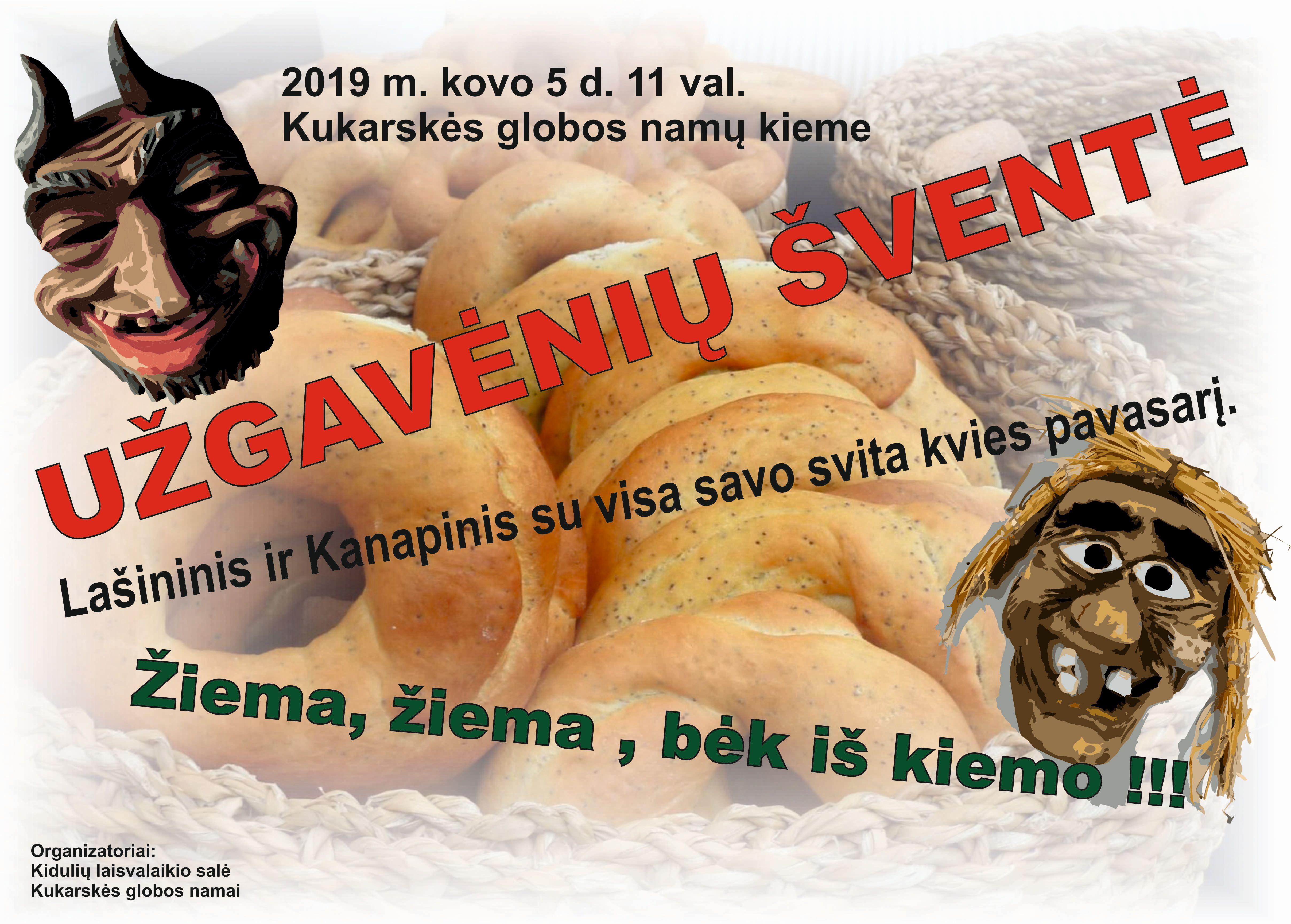 Užgavėnių šventė Kukarskėje