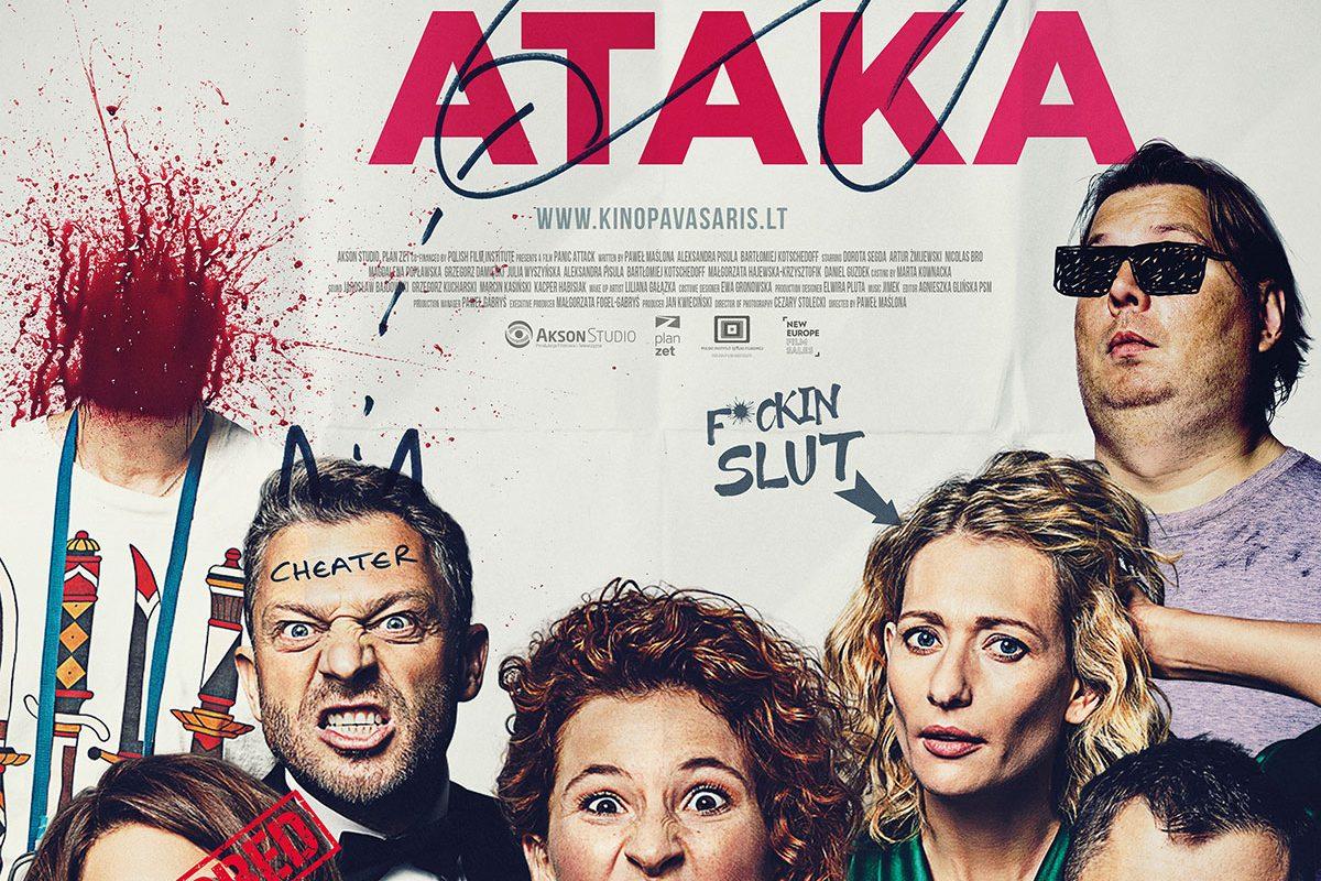 """Kino filmas ,,Panikos ataka"""""""