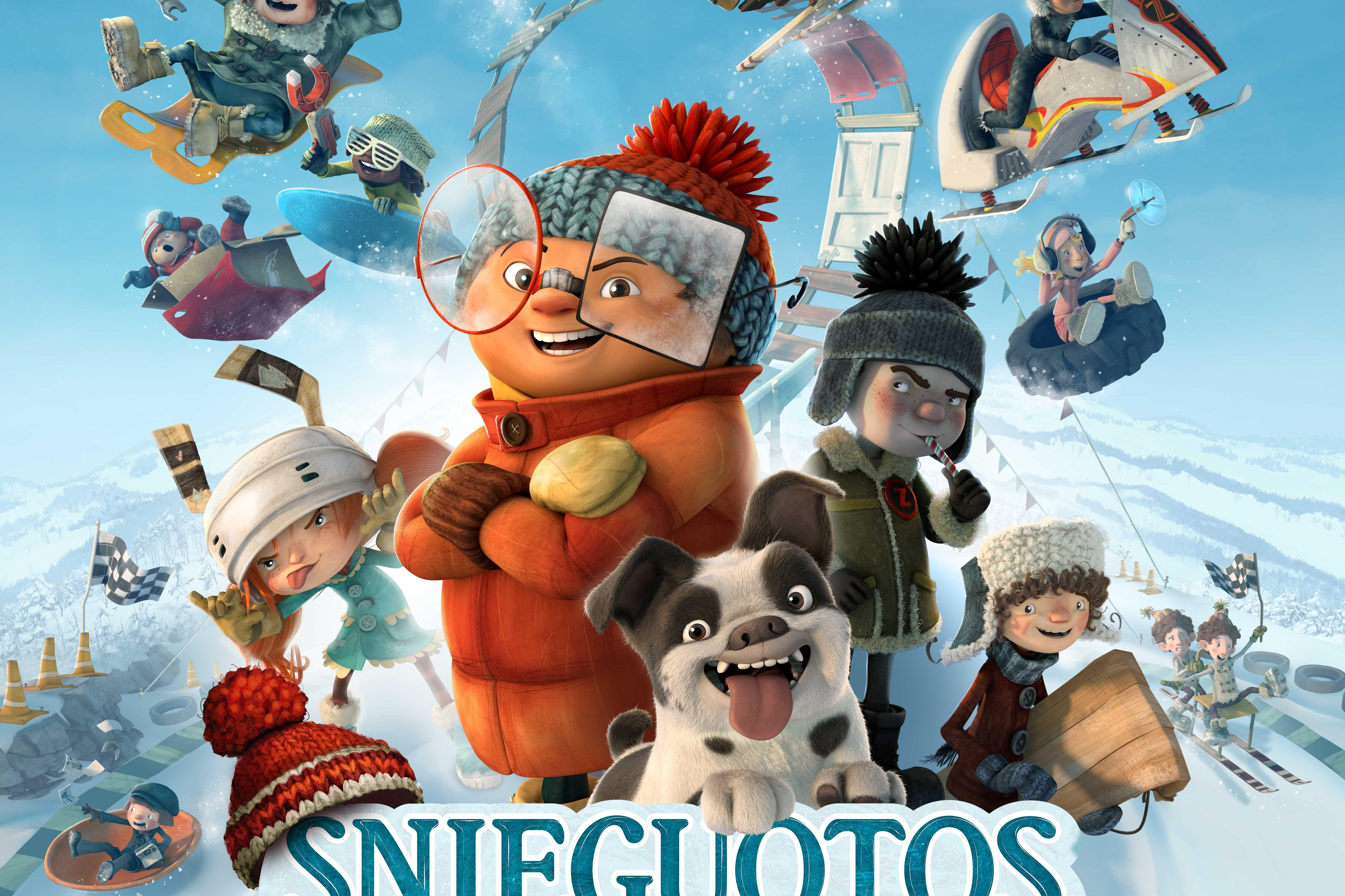 """Kino filmas ,,Snieguotos lenktynės"""""""