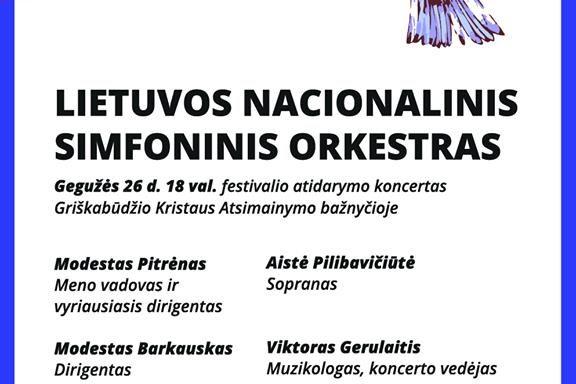 """IX MUZIKOS FESTIVALIO """"BEATRIČĖS VASAROS"""" atidarymo koncertas"""
