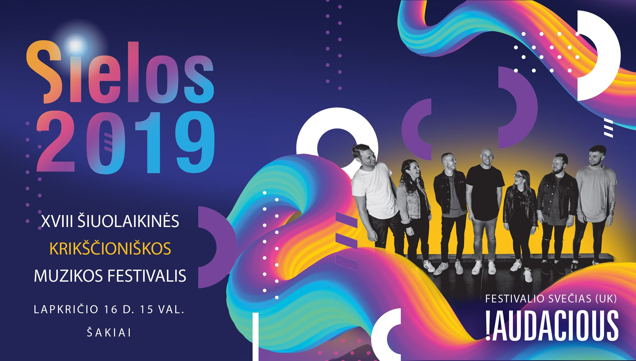 """Festivalio ,,Sielos 2019"""" programa"""