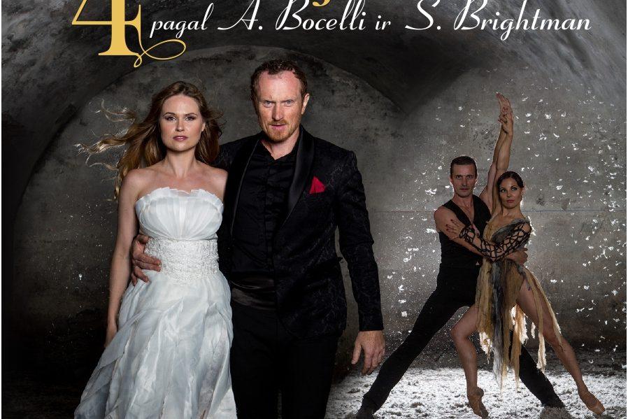 """4 istorijos"" pagal A. Bocelli ir S. Brightman"