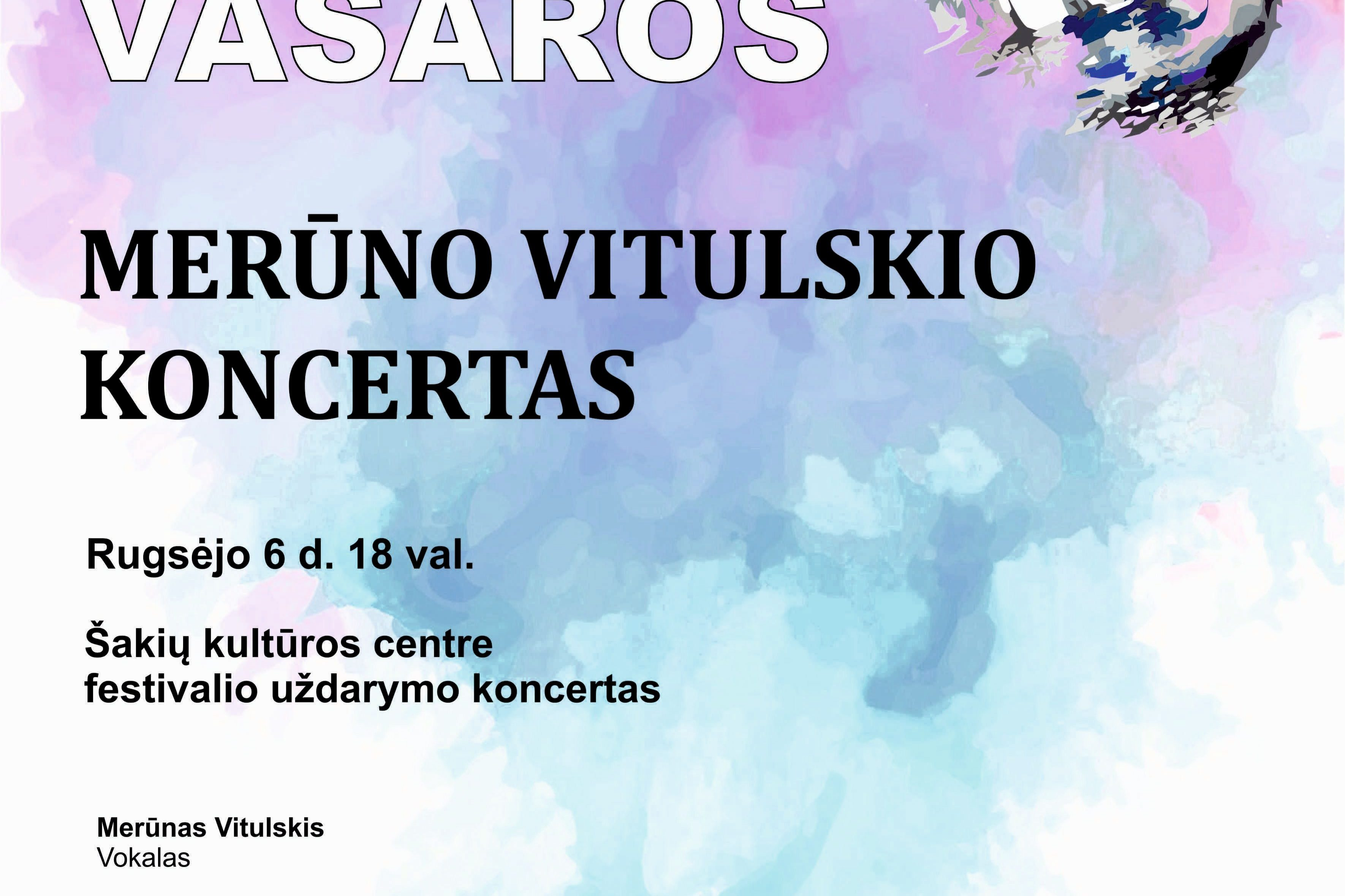 Festivalio uždarymo koncertas