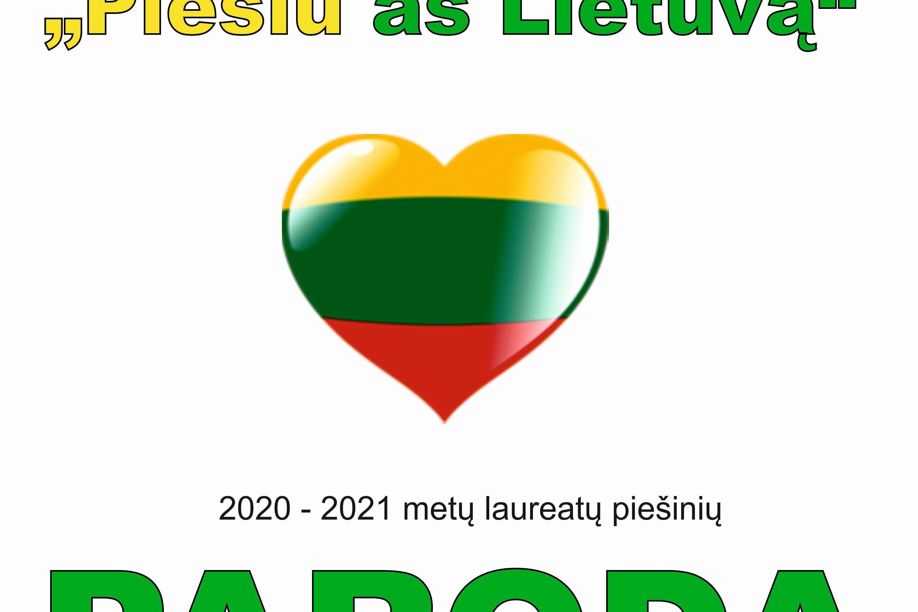 """Paroda ,,Piešiu aš Lietuvą"""""""